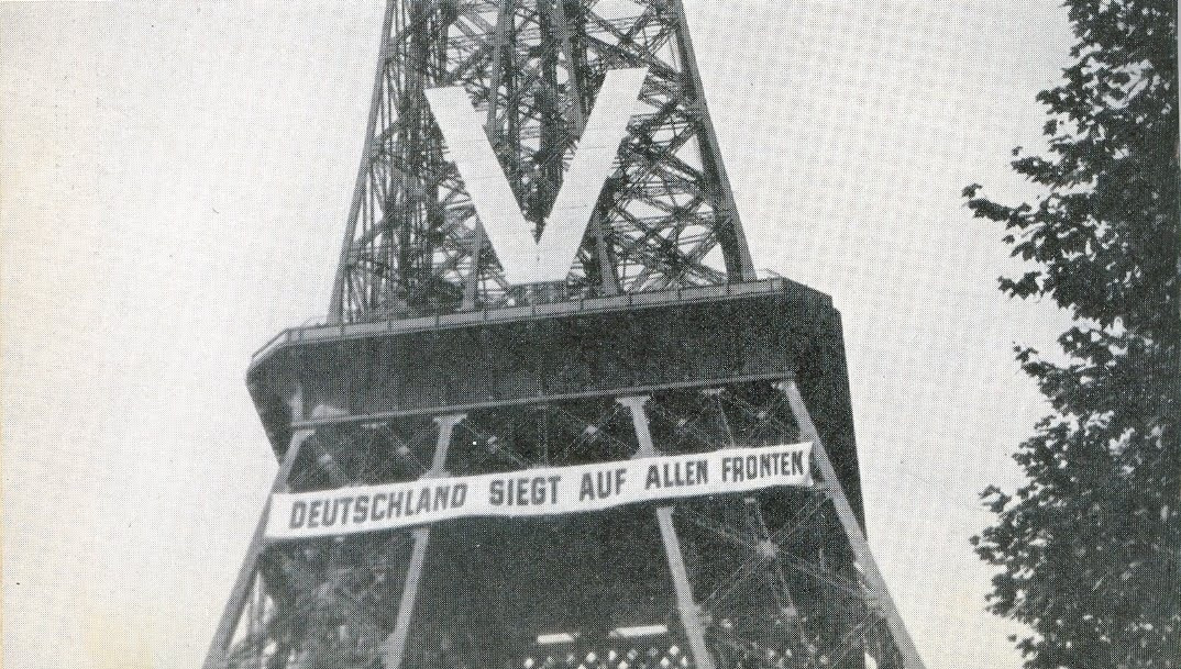 The Eiffel Tower during the Nazi occupation, 1940.jpg