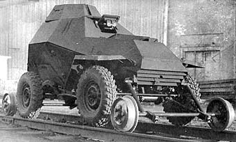 Soviet BA-64 armored vehicle conceived in 1942 at Gorkovski AutoZavod.jpg