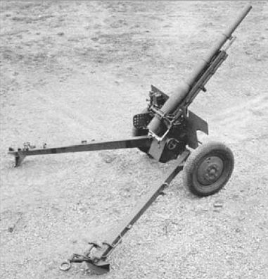 US Gun french 75mm convertion in anti-tank M2A3 configuration - 900 produce.JPG