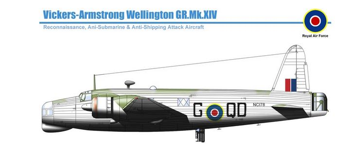 British anti-submarine patrol Vickers Armstrong Wellington GR Mk XIV.JPG