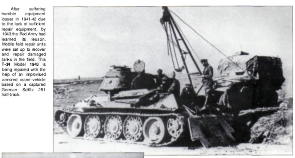 Soviet tank in combat - Concord - Recovery of T34.JPG