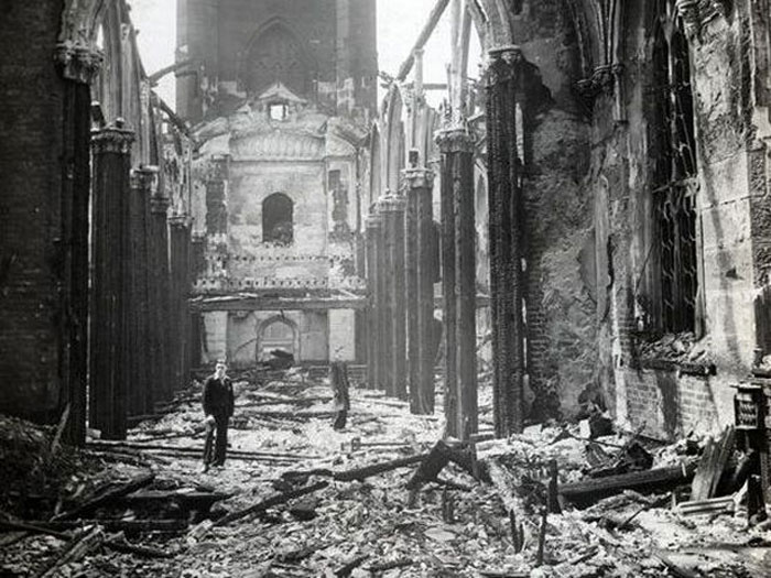 St Luke's Church, affectionately known as The Bombed Out Church by locals, was destroyed by an incendiary bomb on 5th May 1941..jpg