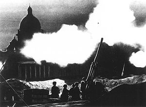 Air raids on Leningrad near St. Isaac's Cathedral, 1941.jpg