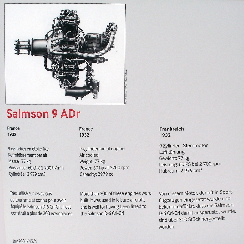 "Aviation Populaire - Salmson D6 ""Cri-cri"" 2457_Salmson9ADr"
