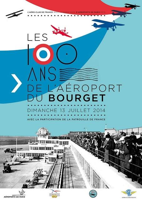 Centenaire de l'Aéroport du Bourget - 13 Juillet 2014 2457_affichbgt-a6672